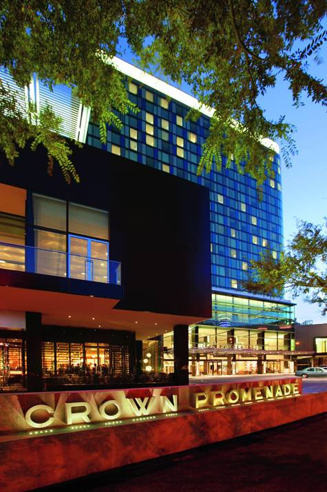 External - Crown Promenade Melbourne