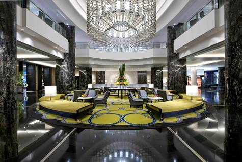 Lobby - Crown Towers Melbourne