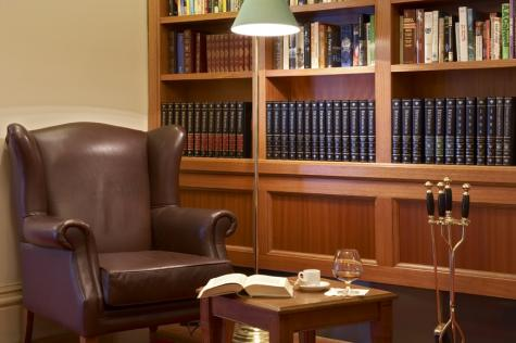 Grand library - Grand Hotel Melbourne - MGallery Collection
