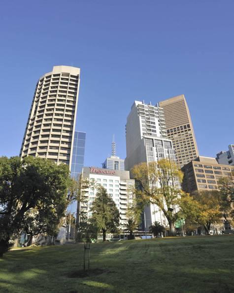 External - Mercure Melbourne Treasury Gardens